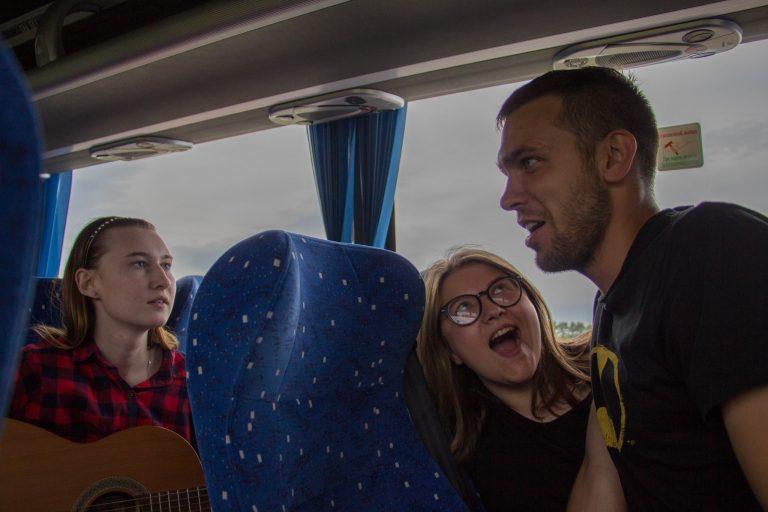 Игры в автобусе